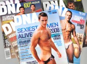 DNA Magazine cover designs
