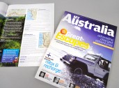Hardie Grant Magazines for Tourism Australia cover