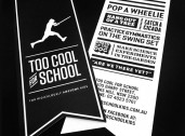 Too Cool For School swing tags